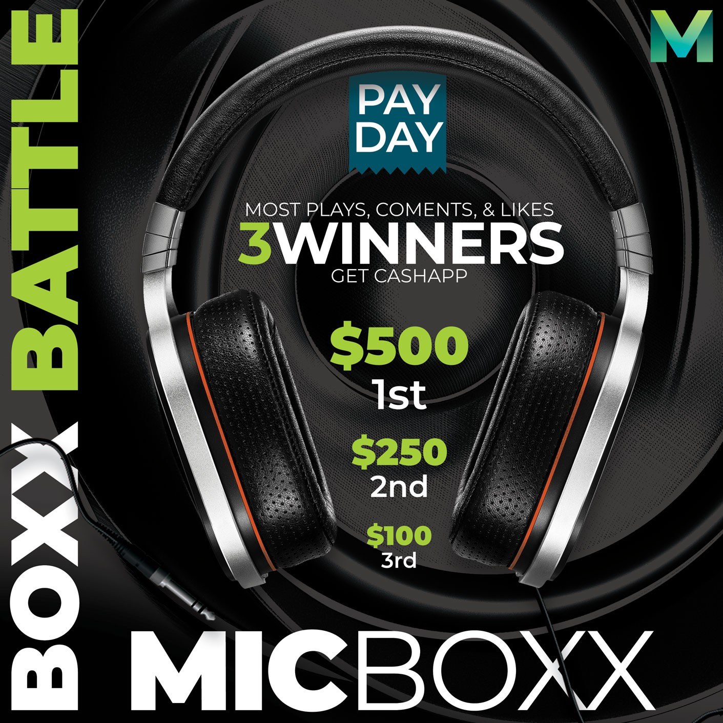 1st Ever MicBoxx Battle: For Artists & DJs